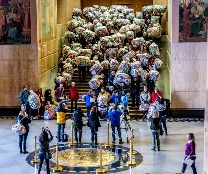 The Soul Box Project at the Oregon State Capitol Rotunda