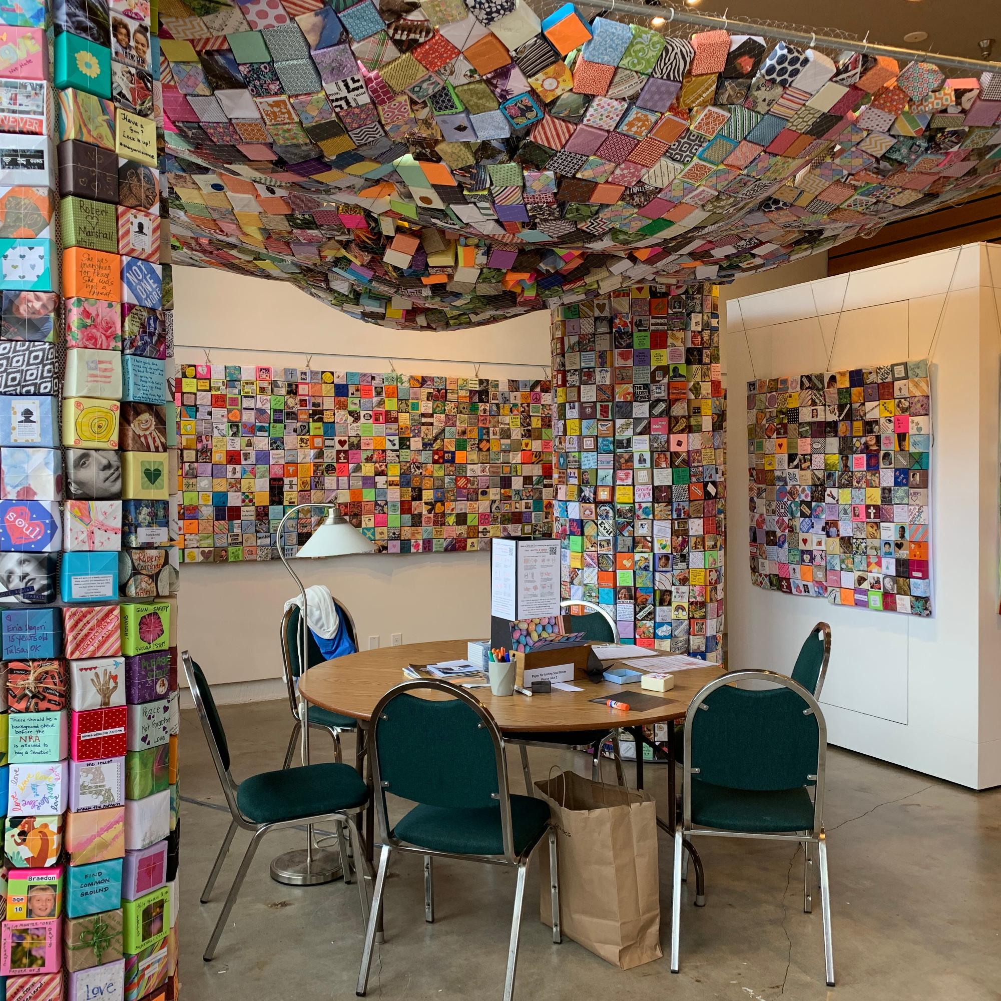 Installation at Multnomah Arts Center, Portland, OR