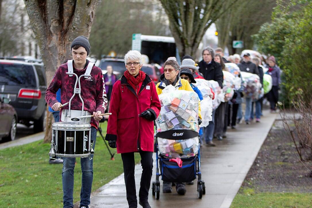 Soul Box procession Oregon State Capital - photo N.V. Holden
