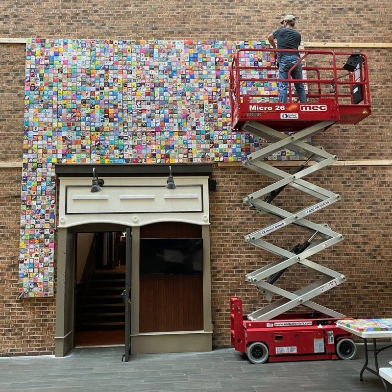 Soul Box Project Installation at ArtPrize in Grand Rapids MI